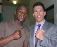 Pat Tomasulo and Floyd Mayweather