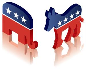 democrat republican logos