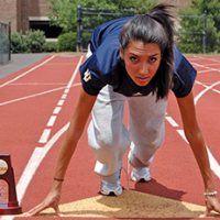 Miriam Khan earns title of fastest woman in Division III sports