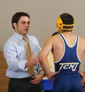 '07 alum appointed interim head wrestling coach