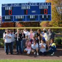 Photo gallery: Softball field dedicated to Dr. June Walker
