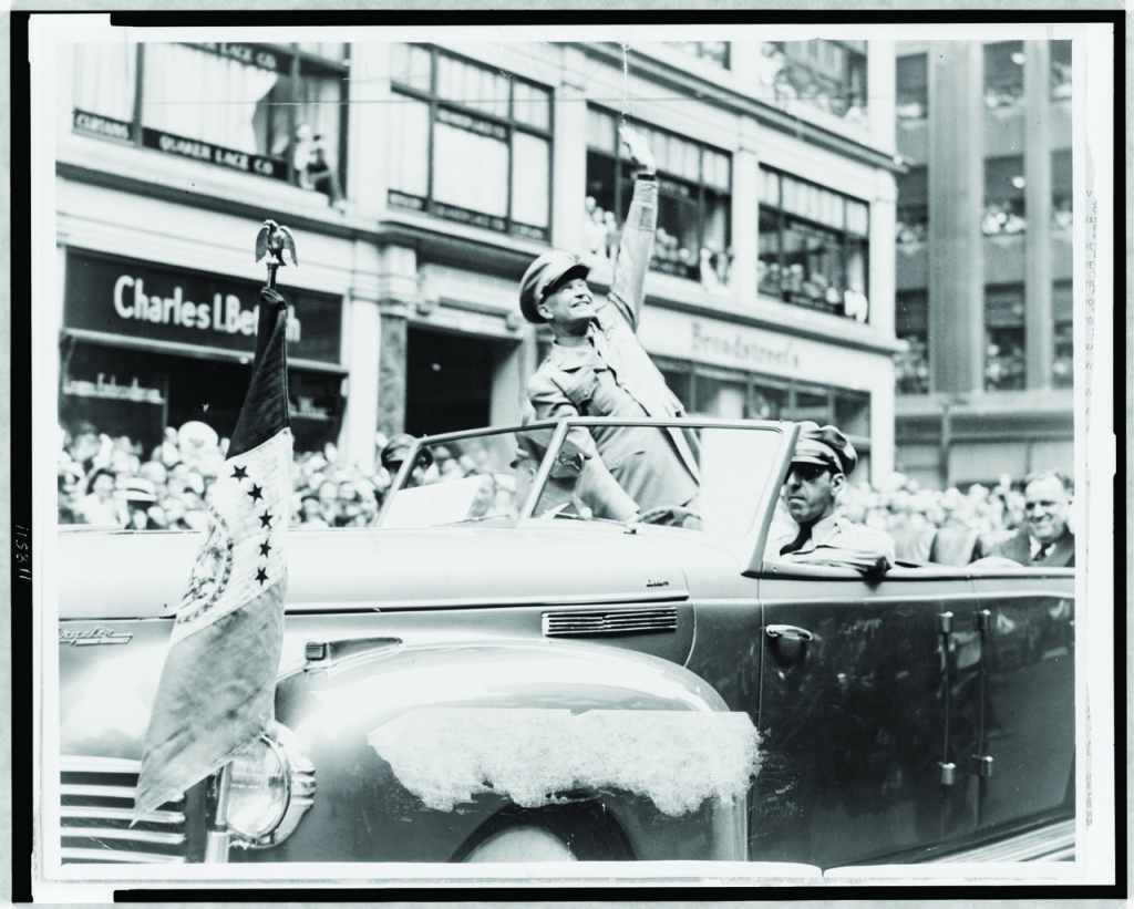 Dwight Eisenhower a glamour candidate? Strangely, yes.