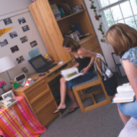 Then and Now: Inside the dorm rooms