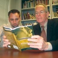 Student and professor collaborate on book project