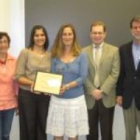 Psychology Department Receives Dahne Award for Faculty Excellence