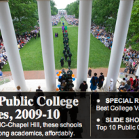 "TCNJ gains a spot and again tops list of NJ publics in Kiplinger's 2010 ""Best Value"" ranking"