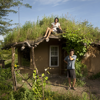 One Alum's Cob House is a Natural Fit