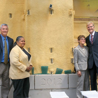 Cornerstone laid for Education Building