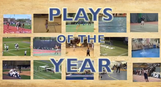 Video: Athletics plays of the year