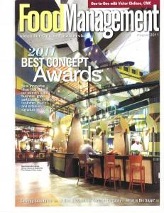 Eickhoff dining hall makeover wins award
