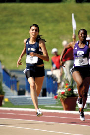 Two runners with TCNJ ties could be chasing gold in 2012