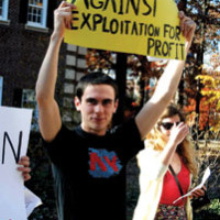 "Occupy TCNJ members want to be a voice for the ""99%,"" while bringing political awareness to campus"