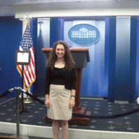 Senior interns with White House Council on Environmental Quality