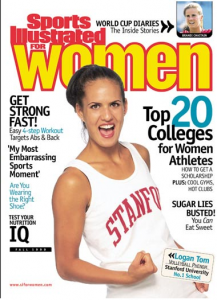 sports illustrated for women cover