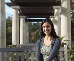 Stephanie DiIonno '15 is the most recent recipient of the Lucretia Brown Smith '40 Scholarship.