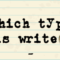 Which type is write?